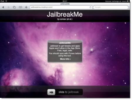 Come fare il jailbreak dell'iPad 2