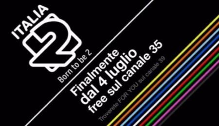Sul Digitale Terrestre arriva Italia 2, ecco come sintonizzarsi