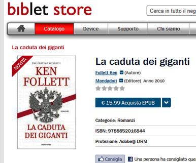 ebook Biblet Store