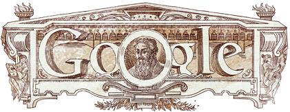 Google Doodle per Giorgio Vasari e il 500esimo dalla nascita
