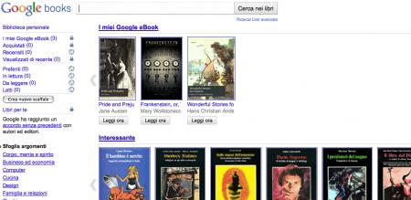 google libri store ebooks