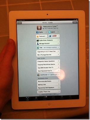 iPad 2 Jailbreak comex