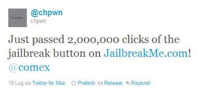jailbreakme 2 milioni