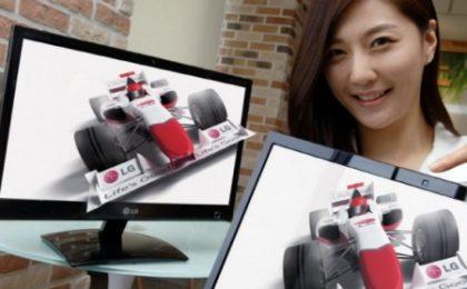 Il nuovo monitor LG Cinema 3D senza occhialini, ecco come funziona