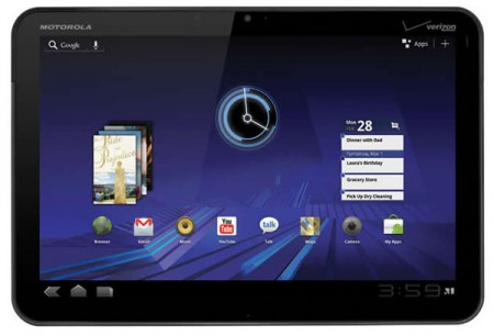 Il secondo Motorola Xoom monterà un super schermo