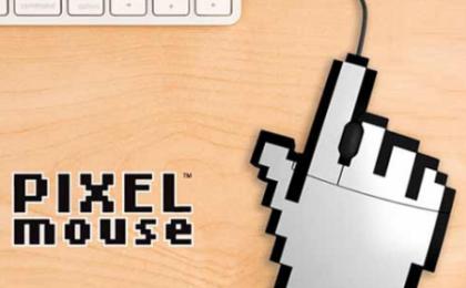 Il mouse USB più divertente? Ecco la manina pixellosa gigante!