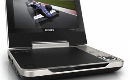 Il lettore Blu-ray portatile di Philips, ideale per l'estate