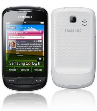 samsung corby ii scheda tecnica touch
