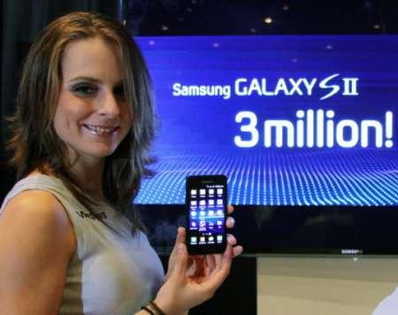 Ben 3 milioni di Samsung Galaxy S II venduti in meno di 2 mesi!