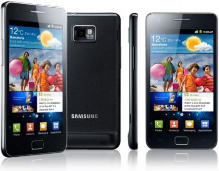 samsung galaxy s ii touchscreen capacitivo