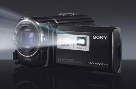 La videocamera Sony Handycam con proiettore integrato!