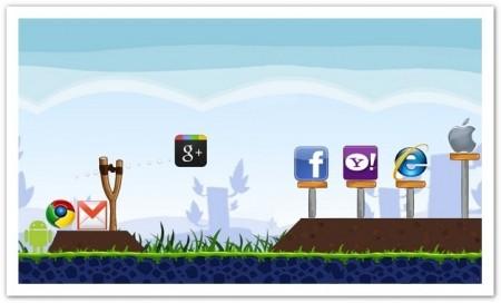 Angry Birds e altri giochi su Google+!