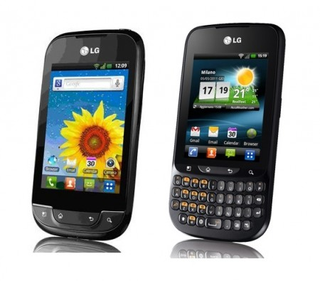 LG Optimus Net and LG Optimus Pro
