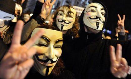 Attacco hacker degli Anonymous a un altro obiettivo sensibile italiano