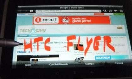 La nostra recensione di HTC Flyer con pro e contro