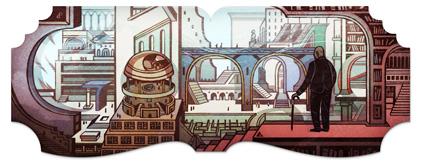 Jorge Luis Borges ricordato nel Google Doodle odierno