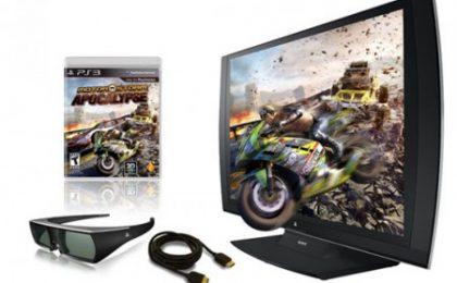 Il monitor 3D per Playstation si perderà il mercato natalizio