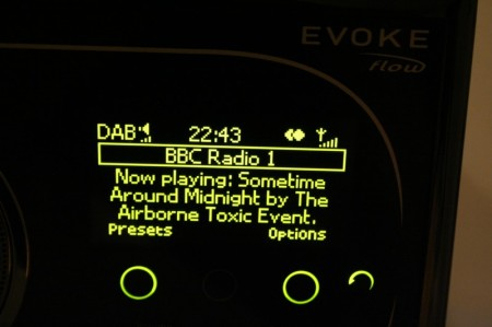 pure evoke flow radio