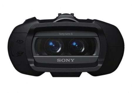 Binocoli digitali Sony registrano video in Full HD e 3D!