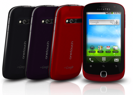 Alcatel One Touch 990, il colorato smartphone Android satinato