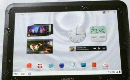 Un tablet Android resistente all'acqua? Fujitsu Arrows Tab