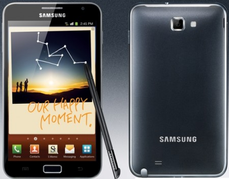 Samsung Galay Note Android Super AMOLED HD