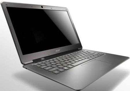 L'ultrabook Acer Aspire S3 affilato e stiloso, ecco il prezzo