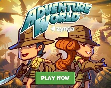 Ecco Adventure World il nuovo gioco sociale di Zynga per Facebook!