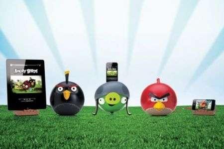 Gli imperdibili altoparlanti di Angry Birds!