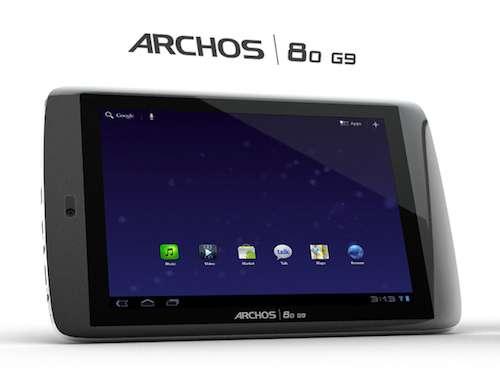 Ecco i prezzi del tablet Archos G9 per l'Italia: finalmente competitivi