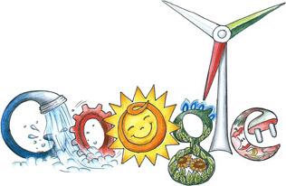 Doodle per Google: l'Italia tra 150 anni? Ecologica e tecnologica