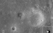Le foto della Luna più definite mostrano gli sbarchi umani