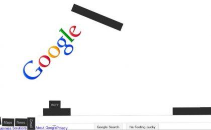Scopri Google Gravity e gli altri giochi con Google