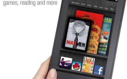 Finalmente Kindle Fire, il tablet Android di Amazon