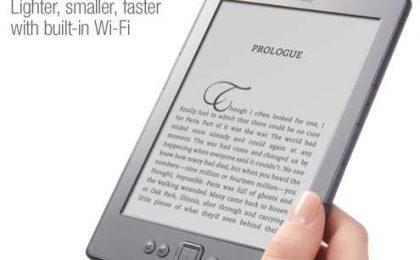 Kindle Touch: il lettore di libri digitali diventa tutto tattile