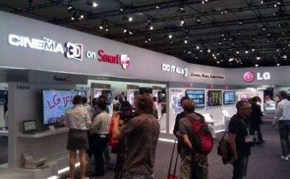 Le novità LG all'IFA 2011: tanto 3D e elettrodomestici intelligentissimi