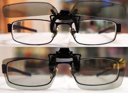 Da LG le lenti clip: il Cinema 3D per chi porta gli occhiali