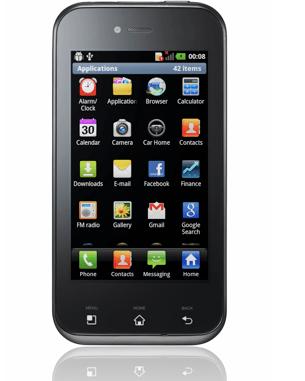 Buon prezzo per LG Optimus Sol, il nuovo smartphone Android Gingerbread
