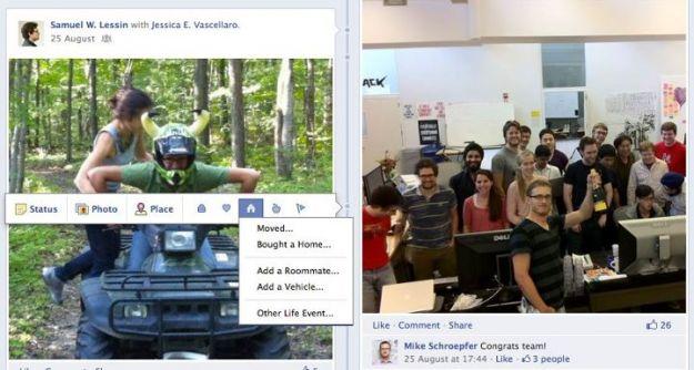 nuovo profilo facebook timeline