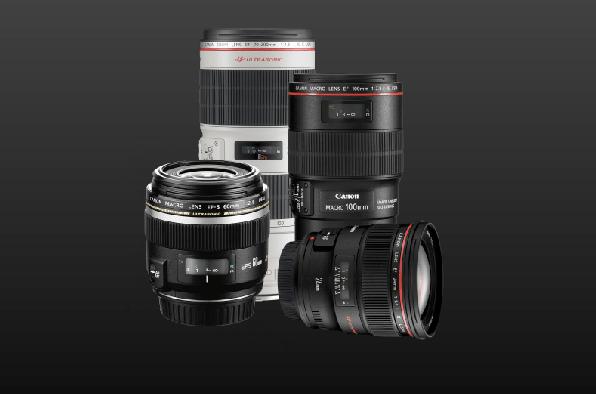obiettivi canon fotocamere