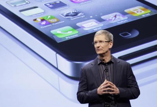 La presentazione di iPhone 5 il 4 ottobre, con Tim Cook