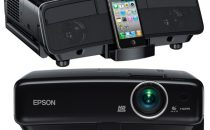 I proiettori Epson con dock iPhone e iPad incorporato!