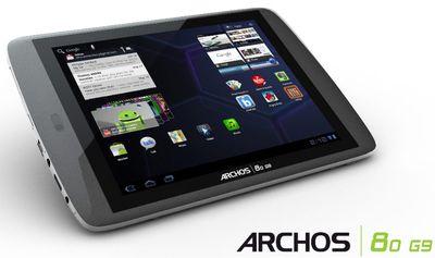Archos G9 Turbo uscirà a fine anno, con processore da 1.2Ghz però