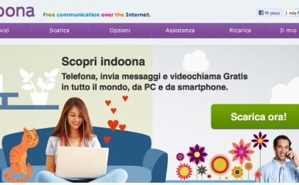 Tiscali Indoona, l'anti-Skype italiano per chiamate e messaggi gratis
