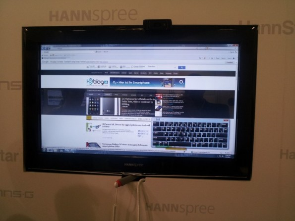 tv touchscreen hannspree
