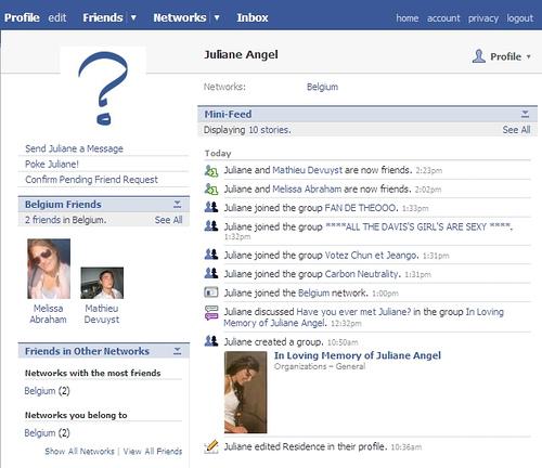 vecchio facebook