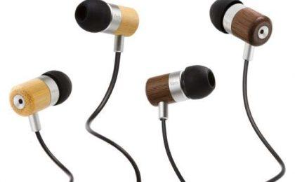 Auricolari in-ear con legno: qualità e ecologia