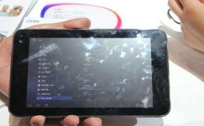 Il nuovo tablet ZTE accoglierà il super processore Nvidia Tegra 3