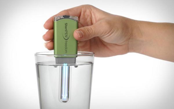Il purificatore d'acqua USB: il gadget ideale per il viaggio