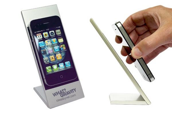 Il porta iPhone che sfida la gravità!